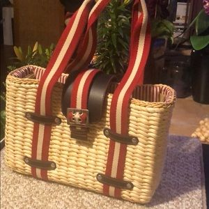 Hand Crafted Straw Bag